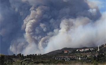 美国加州山火