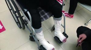 学生正在体检,南京溧水一医院楼板突然坍塌17人受伤_江苏频道_...
