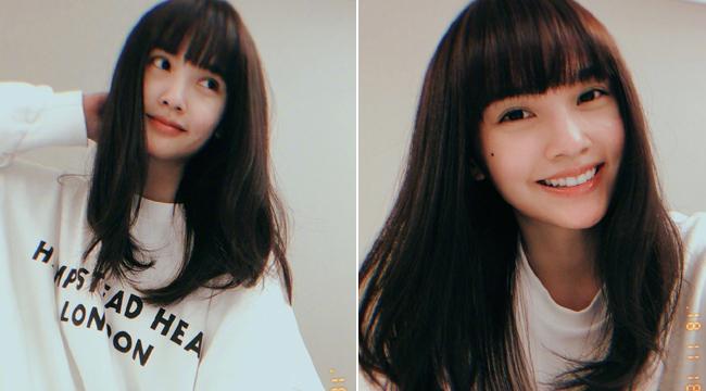 杨丞琳晒新发型发色 青春阳光逆龄如高中生
