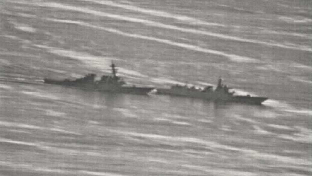 军机处第187期 揭秘170舰南海追越美军战舰背后的故事