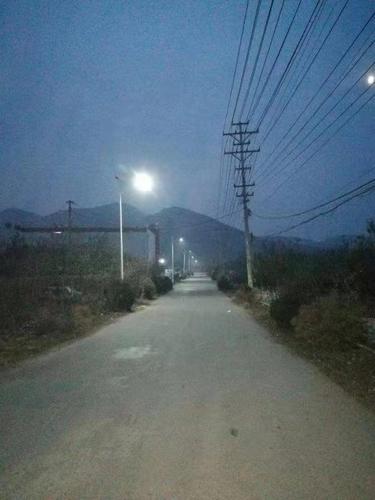 淄博沂源县中庄镇:人大代表好提议安装路灯亮民心