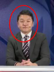 韩国NBA解说边流鼻血边直播