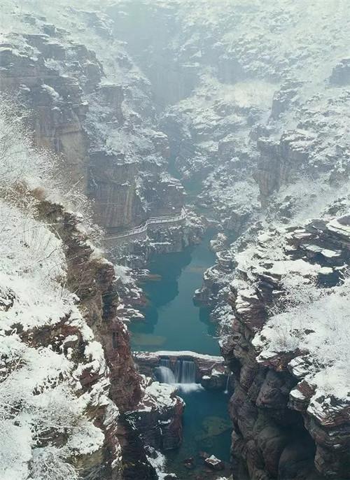 云台山这么多打卡围观地 一定有你所期待的冬天模样