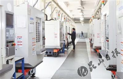昆山科森科技股份有限公司生产车间.