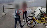 男子怀疑女友在另结新欢 街头用榔头猛砸女子17下