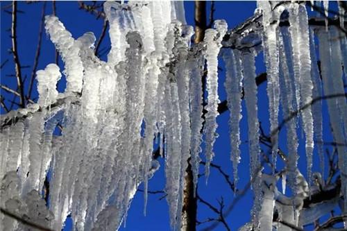 这片125平方公里巨幅水墨仙境 让你知道嵩县的冬天有多美