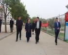 中国科学院大学附属学校考察团莅临商丘中学考察指导工作