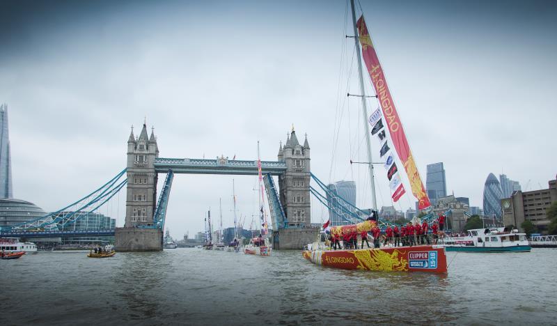 克利伯環球帆船賽9月起航 珠海號等3條中國船首次并肩航行