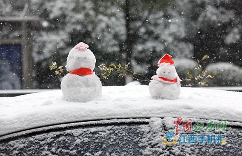 江西:雪花按下暂停键阴雨湿冷天气来接班
