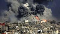 轰炸现场!以色列轰炸加沙地带哈马斯军事目标