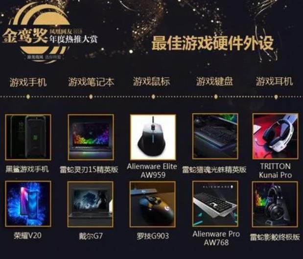 凤凰网2018金鸾奖揭晓 黑鲨当选最佳游戏手机