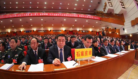 河北省人大代表认真审议政府工作报告