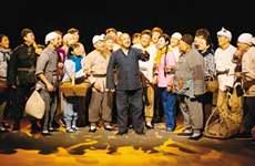 话剧《柳青》在革命圣地延安演出 广受好评