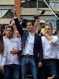 """委内瑞拉""""自立总统""""是谁?"""