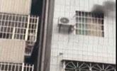 广州一出租屋发生火灾,悬停的电梯内现一具男性遗体