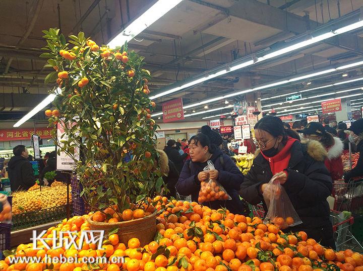 货足价稳 河北组织544.9亿元货源投放春节市场
