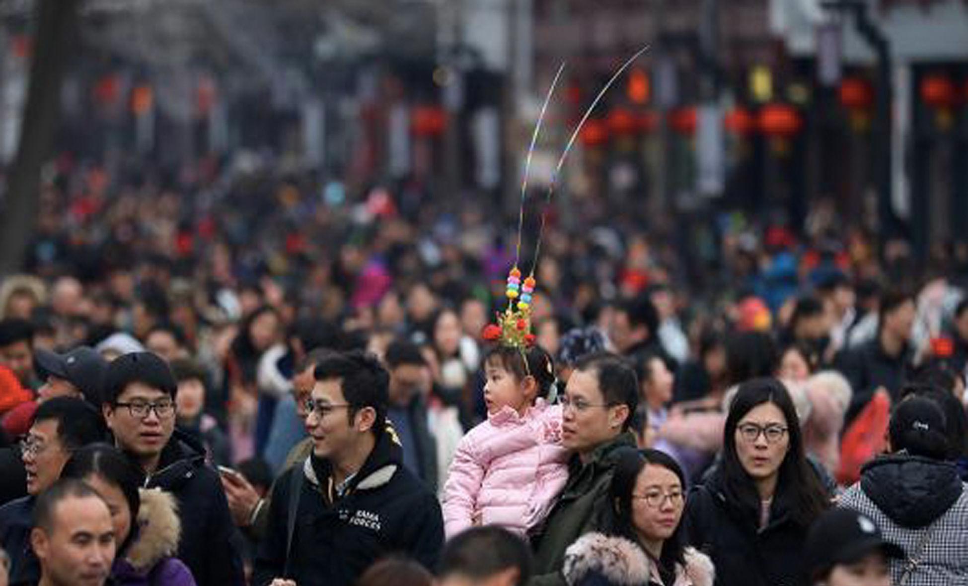 元宵节临近 南京夫子庙迎客流高峰