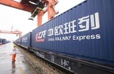 """中欧班列""""长安号""""开行总量货运量全国第一"""