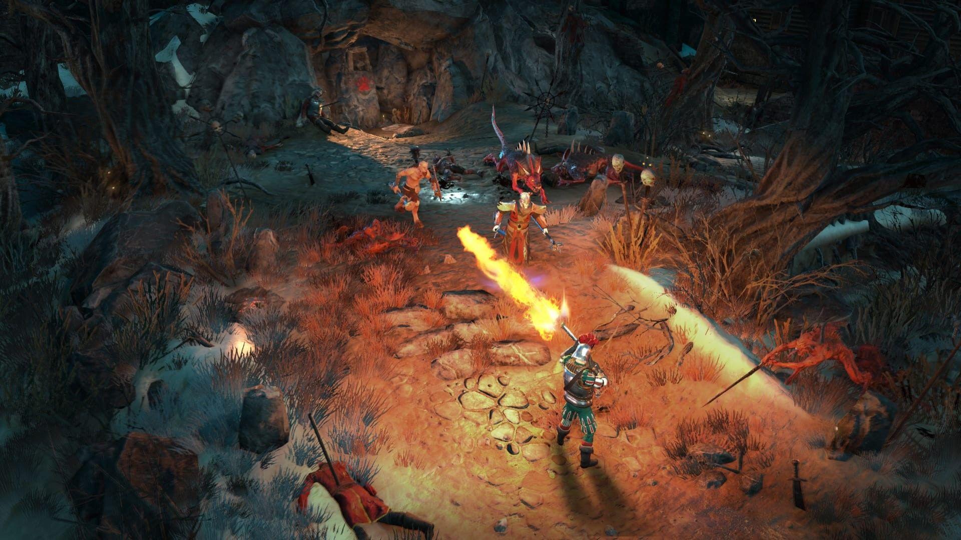 战锤系列首款ARPG《混沌祸源》4月将开启测试