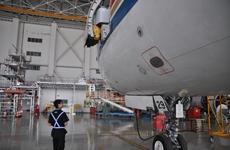 陕西首例境外飞机进境维修业务在空港新城开展