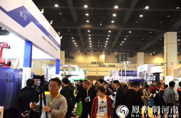 第九届中国(郑州)塑料产业博览会昨日在郑州盛大开幕