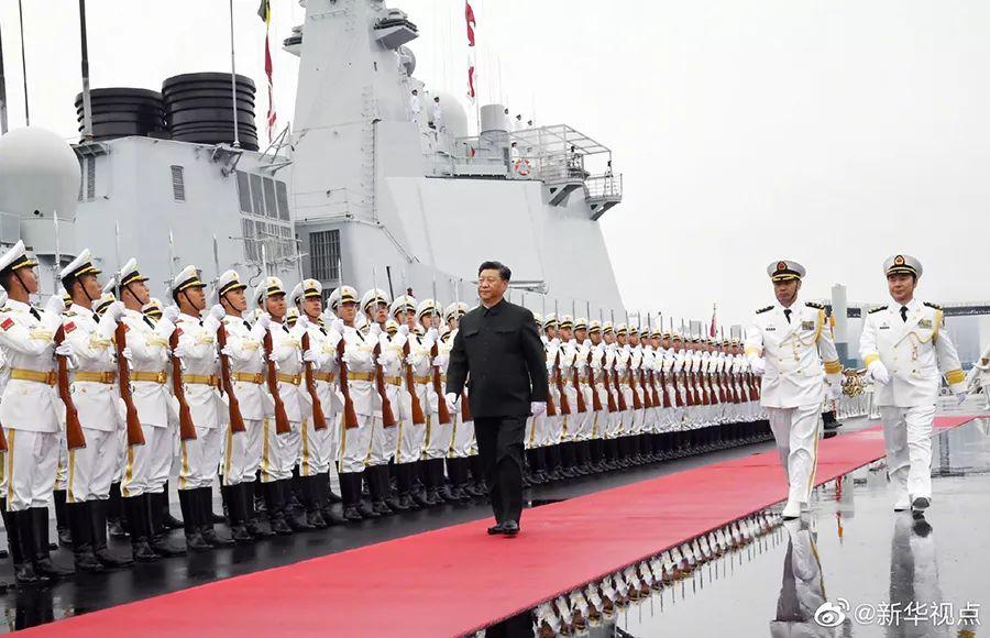 青岛海上阅兵全纪录