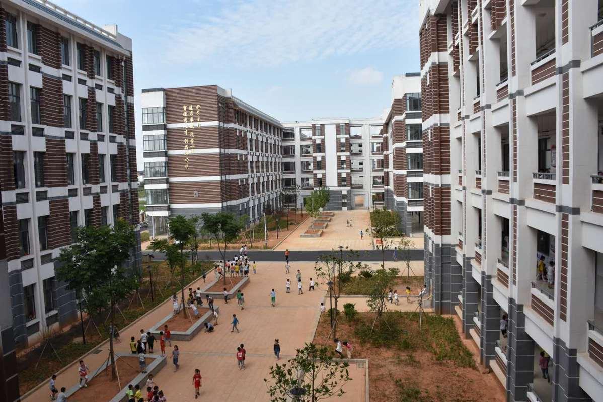 江西临川:校园如花园