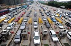 """""""五一""""期间 陕西高速公路累计通行车辆777.89万辆"""