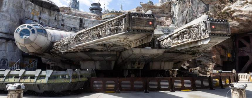 美国迪士尼《星球大战:银河边缘》园区主题摄影
