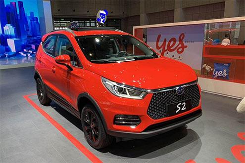 比亚迪S2正式上市 纯电小型SUV补贴后售8.98万元起