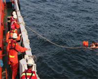 一杂货船船员惠州辖区水域落水
