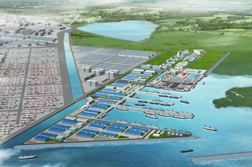 青岛鲁海丰集团15万吨冷链物流库正式启用