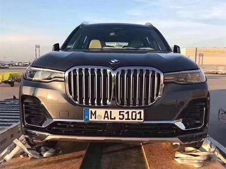 全新宝马X7双肾设计 8AT340马力6座SUV