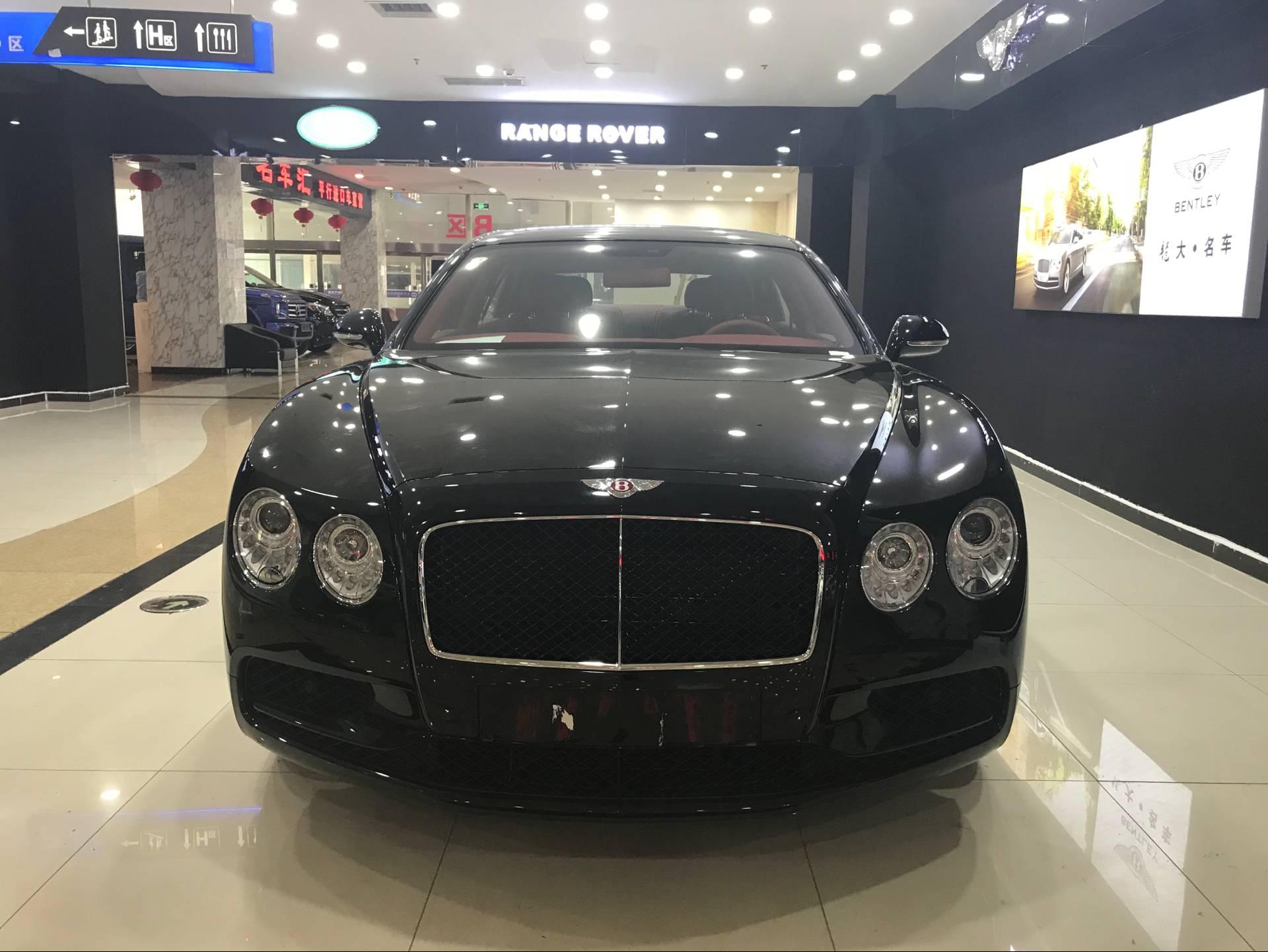 原装18款宾利飞驰V8S 豪轿直惠港口报价