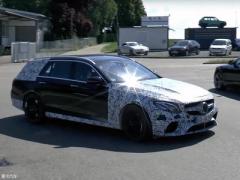 梅赛德斯-AMG E63 旅行版测试谍照曝光