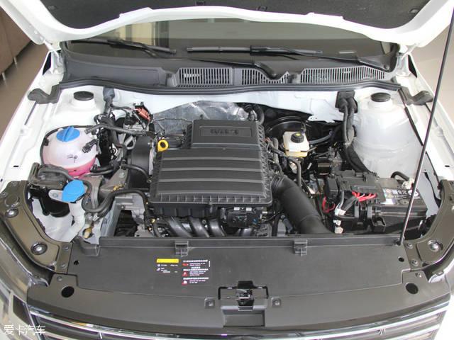 朗逸使用了与明锐相同动力输出的发动机.
