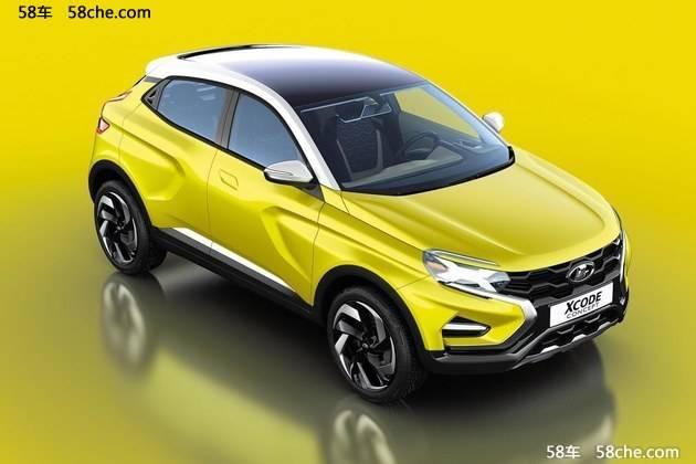 拉达全新SUV概念车发布 对标JUKE车型高清图片