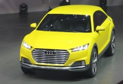 奥迪为Q4注册商标 或为首款电动SUV车型