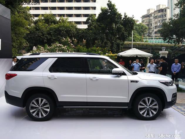 2016广州车展 长安旗舰SUV CS95亮相高清图片