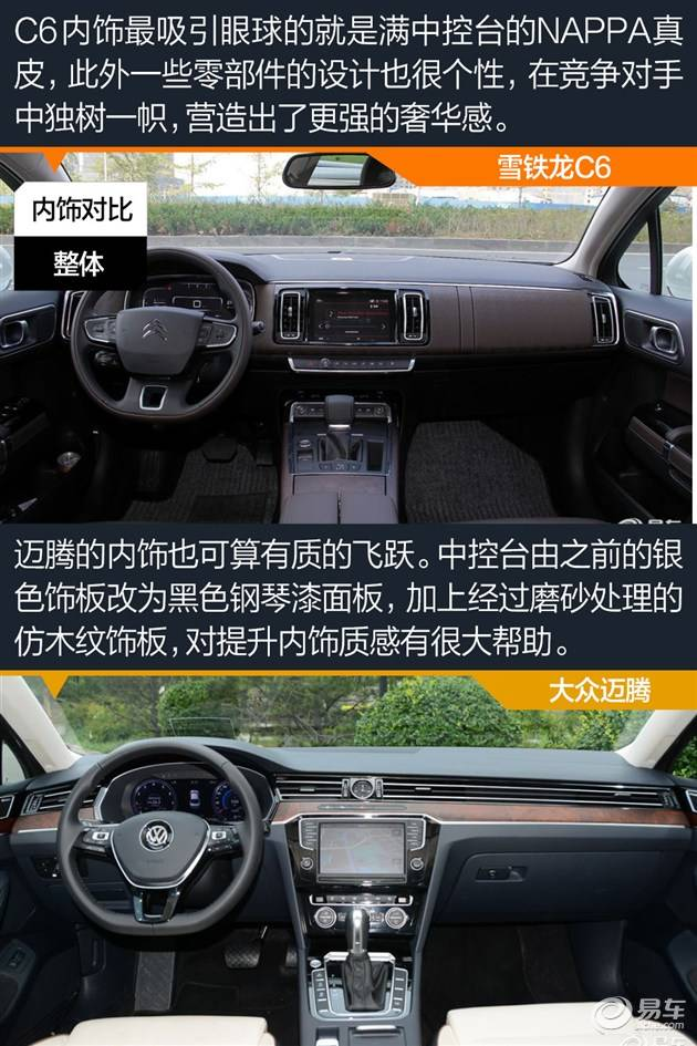 十年之前,雪铁龙C6曾以进口身份引入国内,拥有十分超前的设计,不过由于60多万元的售价太高,几年下来的销量并不乐观,最终不了了之。不过在今年北京车展上东风雪铁龙复活了这一车型,全新国产C6是一款专门为中国市场打造的中级车,设计上比前代更友好,配置丰富,尺寸也在同级车型中位于前列。全新C6对手锁定刚换代的迈腾,而雪铁龙这款诚意满满特供中国的车型,是否有叫板中级车标杆迈腾的实力呢?  东风雪铁龙C6有1.