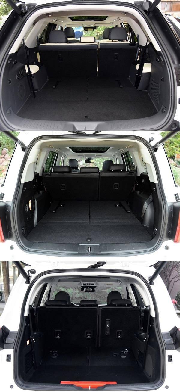 20万元级别自主高端7座SUV大PK高清图片