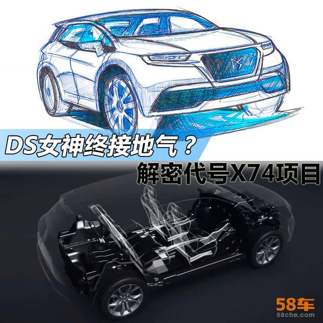 DS 6换代产品?解密内部代号X74新车型_凤凰网汽车