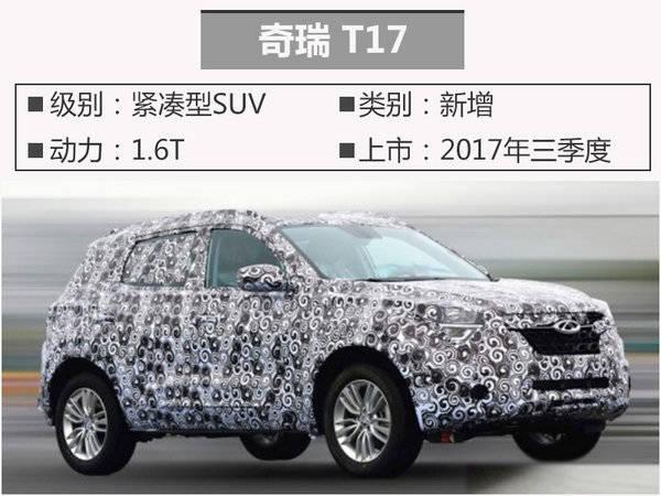 2017年将上市10大低价SUV高清图片