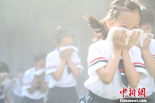 衡阳湖南一年级适合演练消防a年级防灾的四书小学开展小学图片