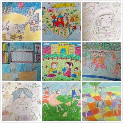 互联网+精准公益 - 90幅儿童画 揭幕宝洁支持希望工程20年