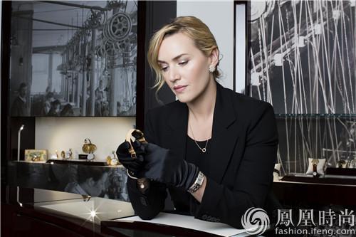 【新珠宝】浪琴表优雅形象大使凯特·温斯莱特莅临品牌起源地索伊米亚