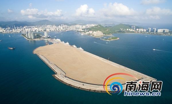 三亚凤凰岛国际邮轮港二期工程已现雏形 预计2016年底