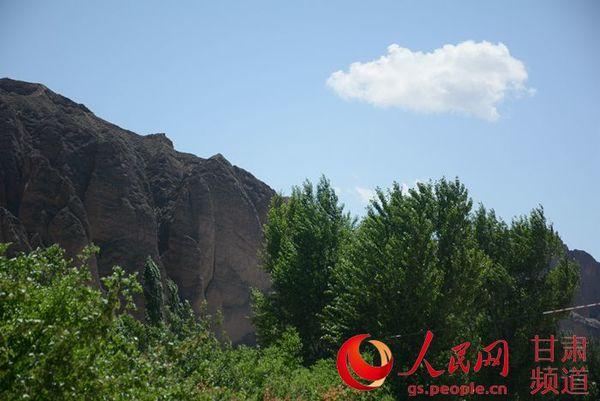 龙湾村黄河石林风景区(李东京 摄)
