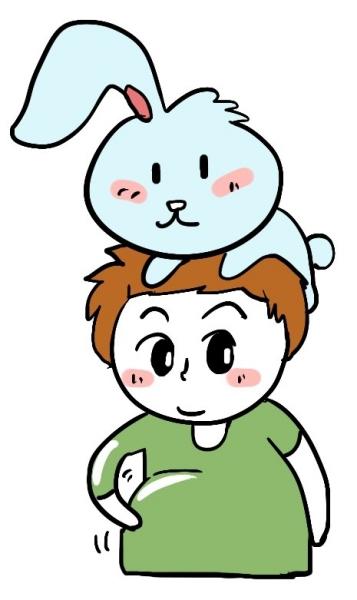 卖家觉得一只耳朵的兔子没法卖,只好送,让我帮着问问有没有朋友想养.
