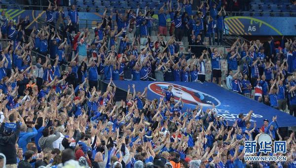 冰岛足球队庆祝视频
